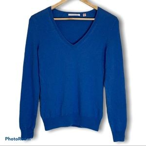 Women's Uniqlo 100% cashmere v-neck sweater